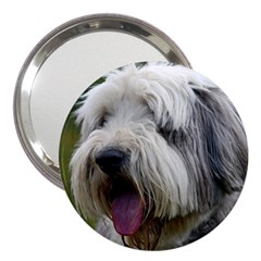 Bearded Collie 3  Handbag Mirrors