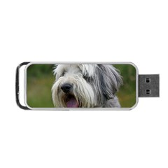 Bearded Collie Portable USB Flash (One Side)