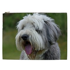 Bearded Collie Cosmetic Bag (XXL)