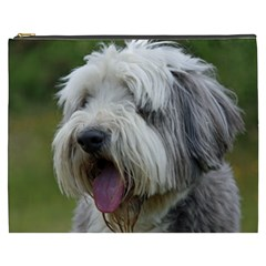 Bearded Collie Cosmetic Bag (XXXL)