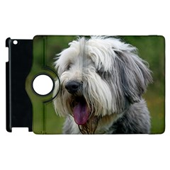 Bearded Collie Apple iPad 2 Flip 360 Case