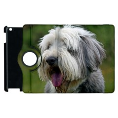 Bearded Collie Apple iPad 3/4 Flip 360 Case