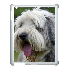Bearded Collie Apple iPad 3/4 Case (White)