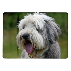 Bearded Collie Samsung Galaxy Tab 10.1  P7500 Flip Case