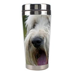Bearded Collie Stainless Steel Travel Tumblers