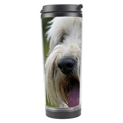 Bearded Collie Travel Tumbler