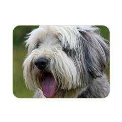 Bearded Collie Double Sided Flano Blanket (Mini)
