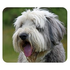 Bearded Collie Double Sided Flano Blanket (Small)