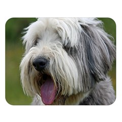 Bearded Collie Double Sided Flano Blanket (Large)