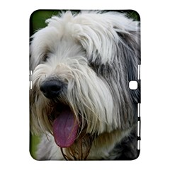 Bearded Collie Samsung Galaxy Tab 4 (10.1 ) Hardshell Case