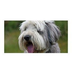 Bearded Collie Satin Wrap