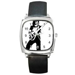 Lemmy   Square Metal Watch