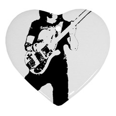 Lemmy   Heart Ornament (Two Sides)