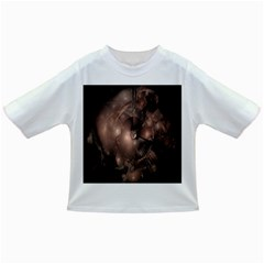 A Fractal Image In Shades Of Brown Infant/Toddler T-Shirts