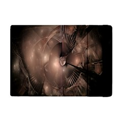 A Fractal Image In Shades Of Brown Apple Ipad Mini Flip Case