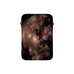 A Fractal Image In Shades Of Brown Apple iPad Mini Protective Soft Cases