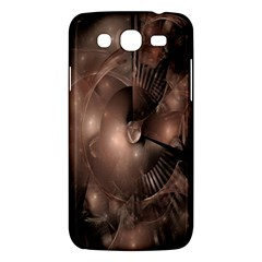 A Fractal Image In Shades Of Brown Samsung Galaxy Mega 5.8 I9152 Hardshell Case