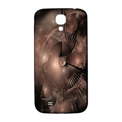 A Fractal Image In Shades Of Brown Samsung Galaxy S4 I9500/I9505  Hardshell Back Case