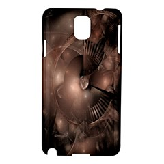 A Fractal Image In Shades Of Brown Samsung Galaxy Note 3 N9005 Hardshell Case
