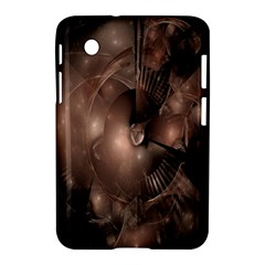 A Fractal Image In Shades Of Brown Samsung Galaxy Tab 2 (7 ) P3100 Hardshell Case