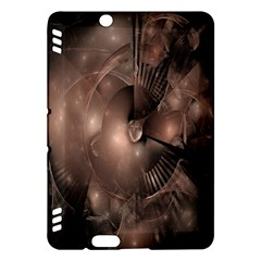 A Fractal Image In Shades Of Brown Kindle Fire Hdx Hardshell Case