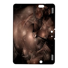 A Fractal Image In Shades Of Brown Kindle Fire HDX 8.9  Hardshell Case