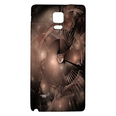 A Fractal Image In Shades Of Brown Galaxy Note 4 Back Case
