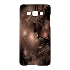 A Fractal Image In Shades Of Brown Samsung Galaxy A5 Hardshell Case