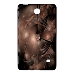 A Fractal Image In Shades Of Brown Samsung Galaxy Tab 4 (7 ) Hardshell Case