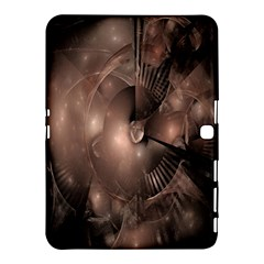 A Fractal Image In Shades Of Brown Samsung Galaxy Tab 4 (10 1 ) Hardshell Case