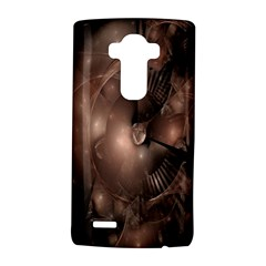 A Fractal Image In Shades Of Brown LG G4 Hardshell Case