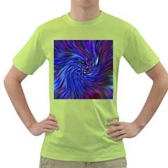 Stylish Twirl Green T-Shirt