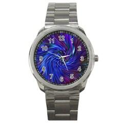 Stylish Twirl Sport Metal Watch