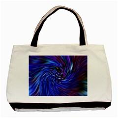Stylish Twirl Basic Tote Bag