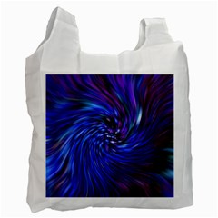Stylish Twirl Recycle Bag (two Side)