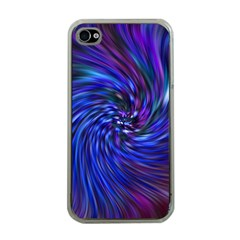 Stylish Twirl Apple iPhone 4 Case (Clear)