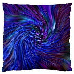 Stylish Twirl Large Cushion Case (one Side)