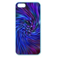 Stylish Twirl Apple Seamless Iphone 5 Case (color)