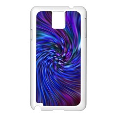 Stylish Twirl Samsung Galaxy Note 3 N9005 Case (White)