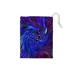 Stylish Twirl Drawstring Pouches (Small)
