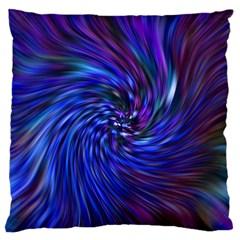 Stylish Twirl Large Flano Cushion Case (Two Sides)