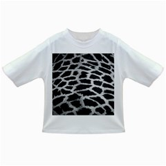 Black And White Giraffe Skin Pattern Infant/Toddler T-Shirts