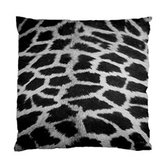 Black And White Giraffe Skin Pattern Standard Cushion Case (two Sides)