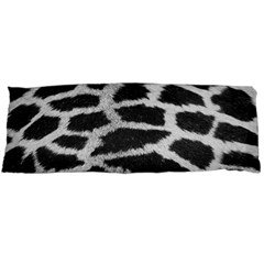 Black And White Giraffe Skin Pattern Body Pillow Case (Dakimakura)