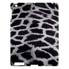 Black And White Giraffe Skin Pattern Apple Ipad 3/4 Hardshell Case