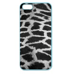 Black And White Giraffe Skin Pattern Apple Seamless Iphone 5 Case (color)