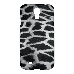 Black And White Giraffe Skin Pattern Samsung Galaxy S4 I9500/I9505 Hardshell Case