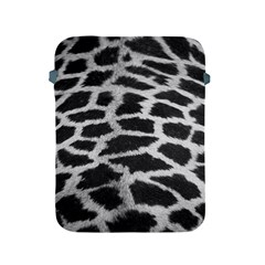 Black And White Giraffe Skin Pattern Apple Ipad 2/3/4 Protective Soft Cases