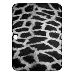 Black And White Giraffe Skin Pattern Samsung Galaxy Tab 3 (10 1 ) P5200 Hardshell Case