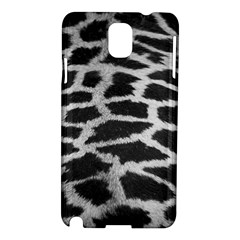 Black And White Giraffe Skin Pattern Samsung Galaxy Note 3 N9005 Hardshell Case